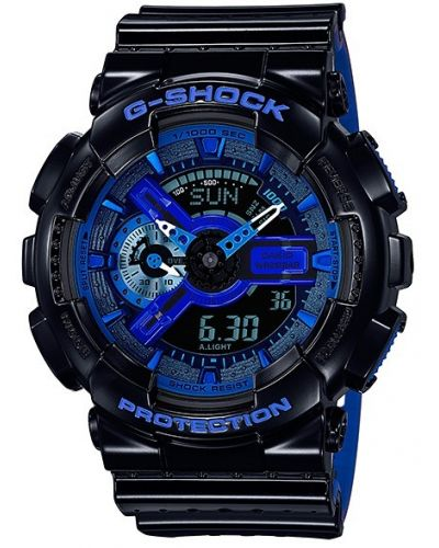 Mens Casio G Shock Punching Pattern GA-110LPA-1AER Watch