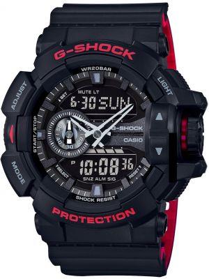 Mens Casio G Shock Black and Red GA-400HR-1AER Watch