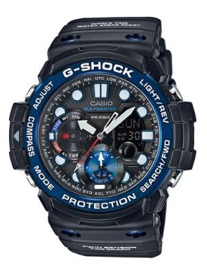 Mens Casio G Shock Gulfmaster Tide graph GN-1000B-1AER Watch