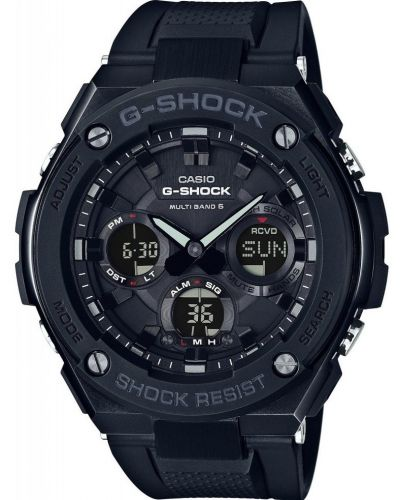 Mens Casio G Shock Black Steel Resin GST-W100G-1BER Watch