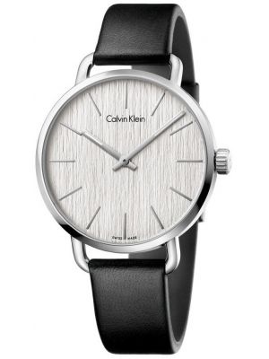 Womens Calvin Klein EVEN Silver Dial K7B211C6 Watch