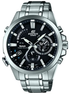 Mens Casio Edifice Stainless steel chronograph EQB-510D-1AER Watch