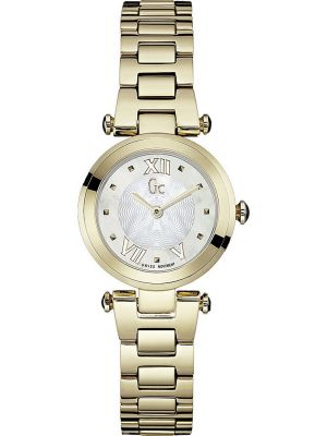 Womens GC Lady Chic gold plated dress Y07008L1 Watch