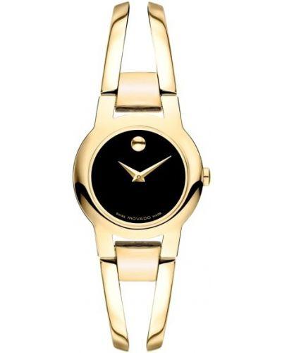 Womens Movado Amorosa Gold Bracelet 606946 Watch