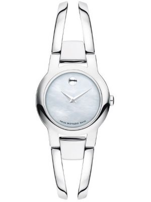 Womens Movado Amorosa Steel Mother of Pearl 0606538 Watch