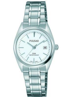Womens Pulsar  Classic Date Steel PH7439X1 Watch