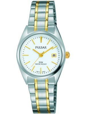 Womens Pulsar  Classic Two Tone Date PH7441X1 Watch