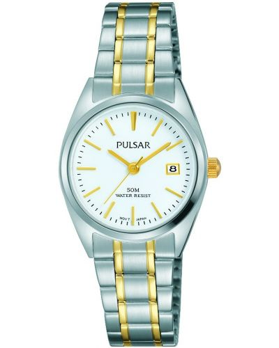 Womens Pulsar  Classic Two Tone Date PH7441X1 Watch