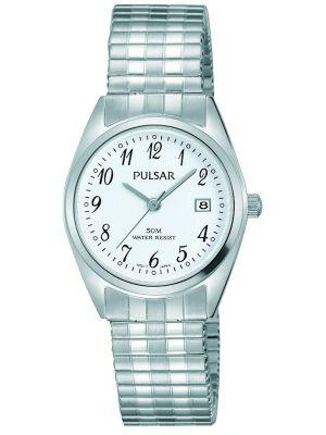 Womens Pulsar  Classic Expander Date Steel PH7443X1 Watch