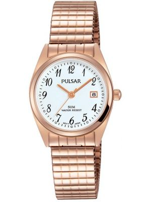 Womens Pulsar  Classic Rose Expander PH7446X1 Watch