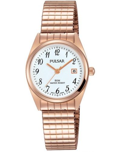 Womens Pulsar  Classic Rose Expander PH7446X1 Watch