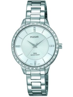 Womens Pulsar  Dress Wear Crystal Set PH8213X1 Watch