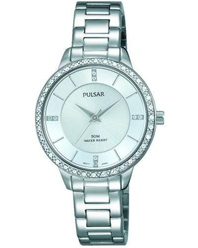 Womens Pulsar  Dress Wear Crystal Set PH8213X1 Watch