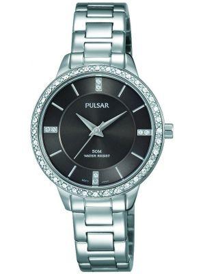 Womens Pulsar  Dress Wear Crystal Set PH8215X1 Watch
