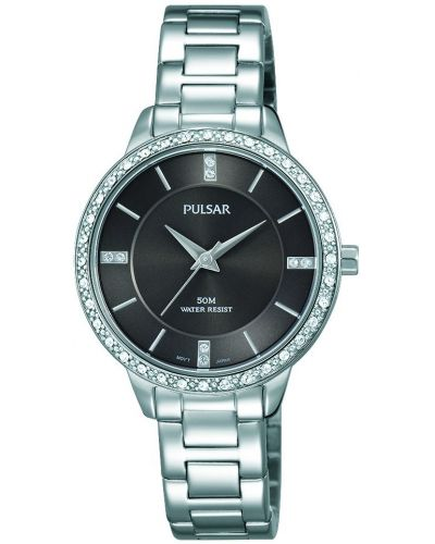 Womens Pulsar  Dress Wear Crystal Set PH8215X1 Watch