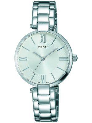 Womens Pulsar  Dress Wear Silver Steel PH8237X1 Watch