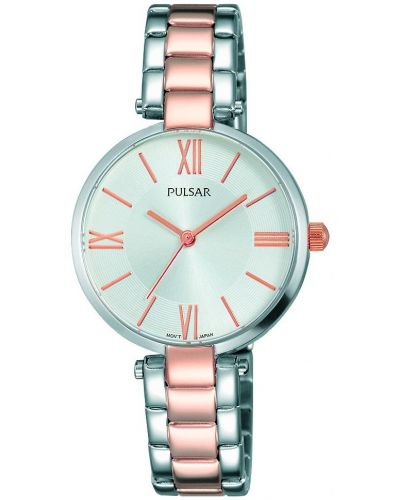 Womens Pulsar  Dress Wear Two Tone Roman PH8242X1 Watch