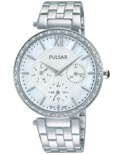 Womens Pulsar  Dress Wear Crystal Set Steel PP6211X1 Watch
