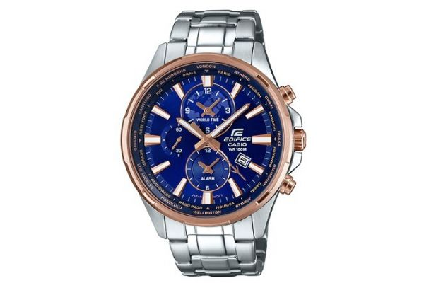 Mens Casio Edifice Watch EFR-304PG-2AVUEF