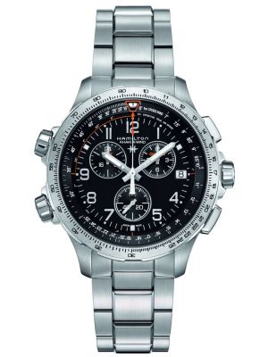 Mens Hamilton Khaki Aviation X-Wind GMT H77912135 Watch