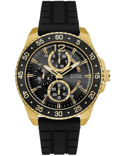 Mens Guess Jet Gold and Black W0798G3 Watch