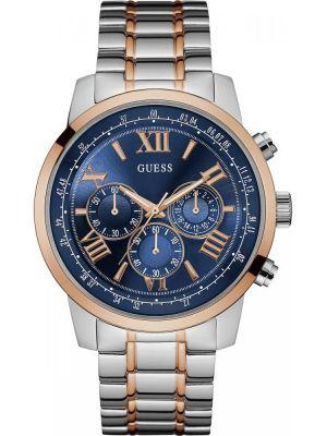 Mens Guess Horizon Rose Two Tone W0379G7 Watch