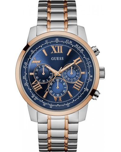 Mens Guess Horizon Rose Two Tone W0379G7 Watch