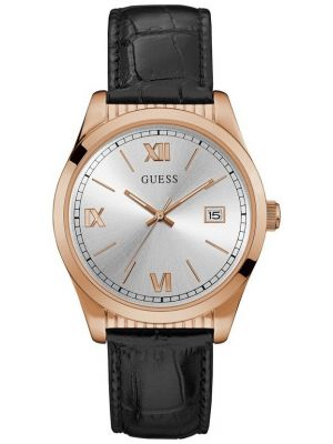 Mens Guess Baxster Rose Gold Strap W0874G2 Watch