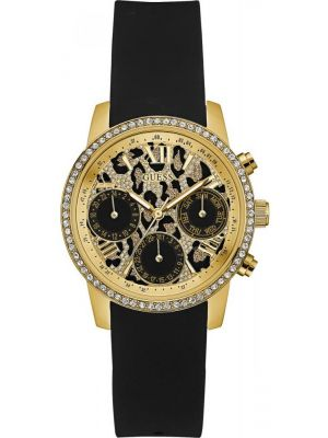 Womens Guess Time To Give Gold Patterned W0023L6 Watch