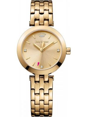 Womens Juicy Couture Cali Gold Bracelet 1901459 Watch