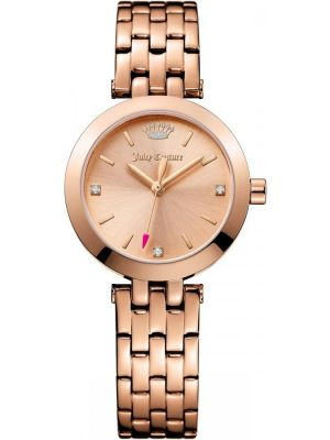 Womens Juicy Couture Cali Rose Gold Bracelet 1901460 Watch