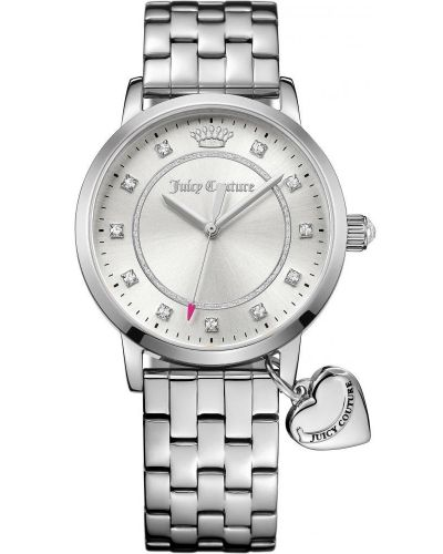 Womens Juicy Couture Socialite Steel Bracelet 1901474 Watch
