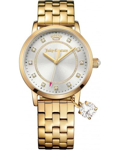 Womens Juicy Couture Socialite Gold Bracelet 1901475 Watch