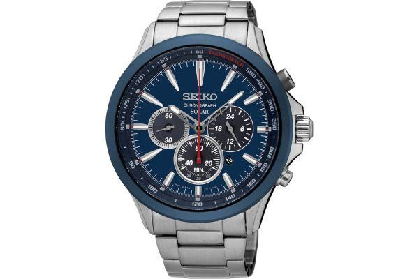 Mens Seiko Solar Watch SSC495P1