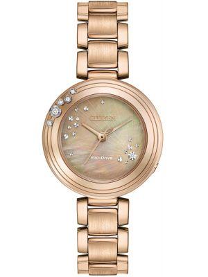 Womens Citizen L-Series Carina 6 Diamond EM0463-51Y Watch