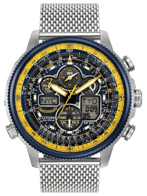 Mens Citizen Nighthawk A-T Blue Angels JY8031-56L Watch