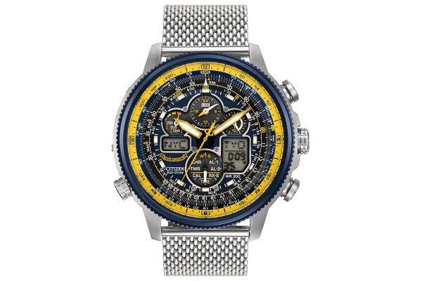 Mens Citizen Nighthawk A-T Watch JY8031-56L