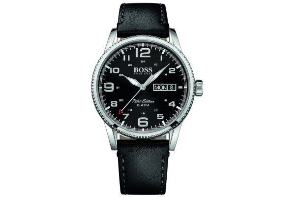 Mens Hugo Boss Pilot Edition Watch 1513330