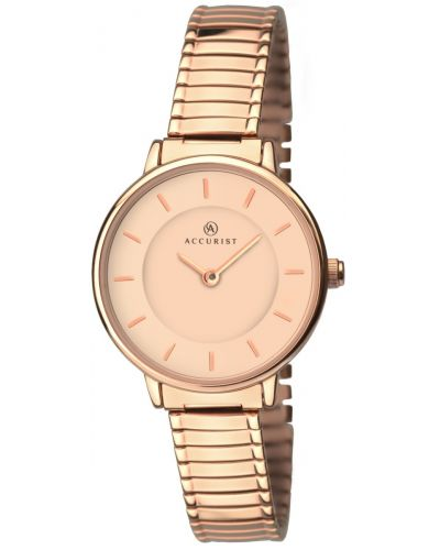 Womens Accurist Dress Rose Expander 8141.00 Watch