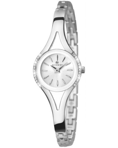 Womens Accurist Dress Crystal Set Steel 8134.00 Watch