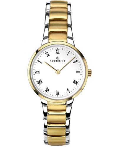 Womens Accurist Classic Two Tone Roman 8129.00 Watch