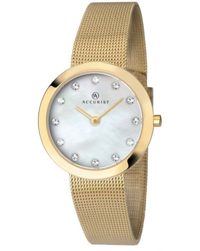 Womens Accurist Dress Gold Mesh 8127.00 Watch