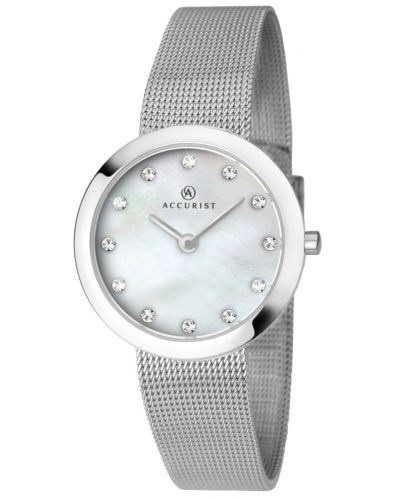 Womens Accurist Dress Steel Mesh 8126.00 Watch