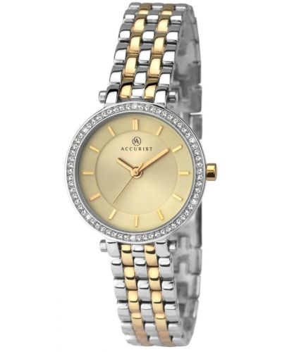 Womens Accurist Dress Two Tone Crystal 8123.00 Watch
