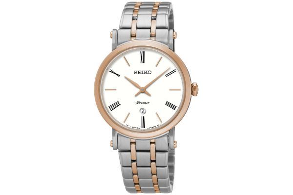 Womens Seiko Premier Watch SXB430P1