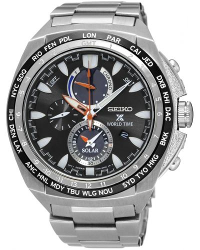 Mens Seiko Prospex Worldtime Solar SSC487P1 Watch