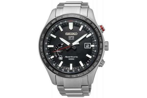 Mens Seiko Sportura Watch SSF003J1