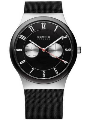 Mens Bering Classic Day & Date on Mesh 32139-202 Watch
