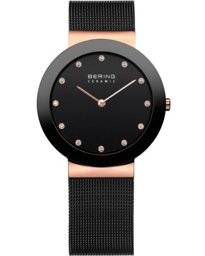 Womens Bering Classic Black Mesh 11435-166 Watch