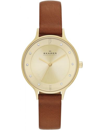 Womens Skagen Anita Tan Strap SKW2147 Watch